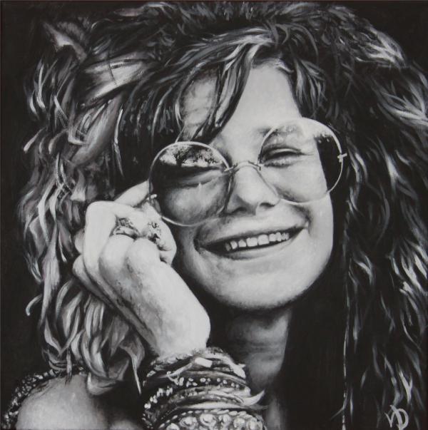 Janis Joplin par gristricote